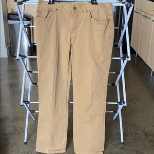 Men's Polo by Ralph Lauren Khaki Pants (Pair 1)